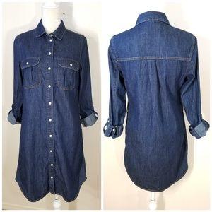 ASOS New Look   denim shirt dress